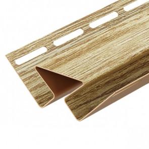 Угол внутренний для винилового сайдинга DOCKE LUX (3000) рябина