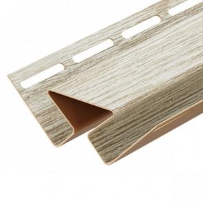 Угол внутренний для винилового сайдинга DOCKE LUX (3000) орех