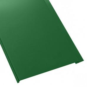 Металлосайдинг Универсальный (вертикальный) в пленке (275/245) полиэстер 0,5 RAL 6002