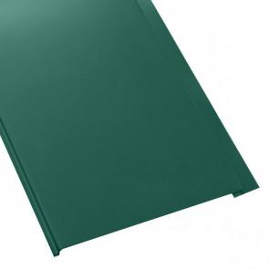Металлосайдинг Универсальный (вертикальный) в пленке (275/245) полиэстер 0,5 RAL 6005