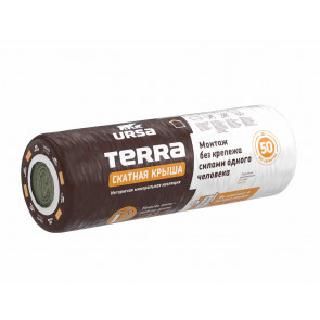 Теплоизоляция УРСА TERRA 35 СКАТНАЯ КРЫША (3900*1200*150)