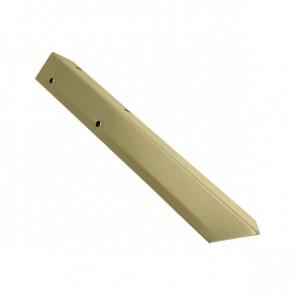 Внешний угол борта грядки металлической КРОМА (42*42*416) RAL 1014 (слоновая кость)