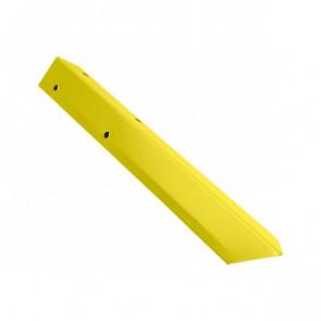 Внешний угол борта грядки металлической КРОМА (42*42*416) RAL 1018 (цинково-желтый)