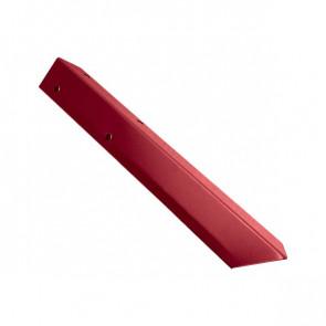 Внешний угол борта грядки металлической КРОМА (42*42*416) RAL 3003 (рубиново-красный)
