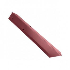 Внешний угол борта грядки металлической КРОМА (42*42*416) RAL 3005 (винно-красный)
