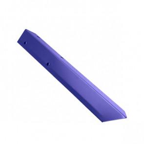 Внешний угол борта грядки металлической КРОМА (42*42*416) RAL 5002 (ультрамарин)
