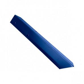 Внешний угол борта грядки металлической КРОМА (42*42*416) RAL 5005 (сигнальный синий)