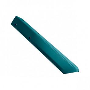 Внешний угол борта грядки металлической КРОМА (42*42*416) RAL 5021 (водная синь)