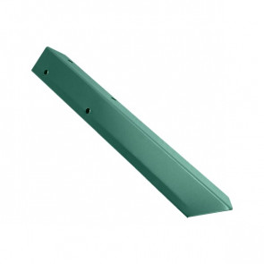 Внешний угол борта грядки металлической КРОМА (42*42*416) RAL 6005 (зеленый мох)