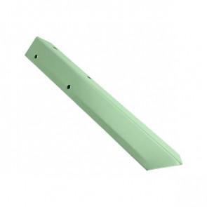Внешний угол борта грядки металлической КРОМА (42*42*416) RAL 6019 (бело-зеленый)