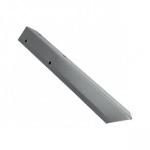 Внешний угол борта грядки металлической КРОМА (42*42*416) RAL 7004 (сигнальный серый)
