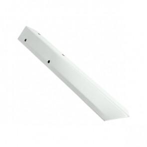 Внешний угол борта грядки металлической КРОМА (42*42*416) RAL 9003 (сигнальный белый)
