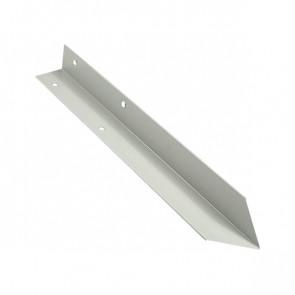Внутренний угол борта грядки металлической КРОМА (42*42*416) RAL 9002 (серо-белый)