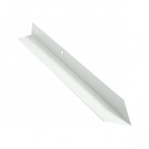 Внутренний угол борта грядки металлической КРОМА (42*42*416) RAL 9003 (сигнальный белый)