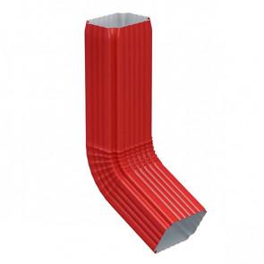 Колено трубы 76*102 (600) «МП Модерн», RAL 3011 (коричнево-красный)