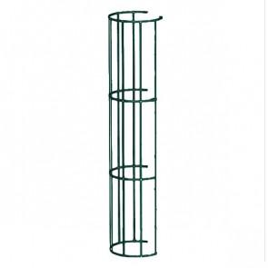 Защитный экран фасадной лестницы H=1200 м/D=800 мм (2-я снизу и последующие секции) RAL 6005 (зеленый мох)
