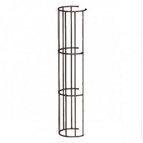 Защитный экран фасадной лестницы H=1200 м/D=800 мм (2-я снизу и последующие секции) RAL 8017 (шоколадно-коричневый)