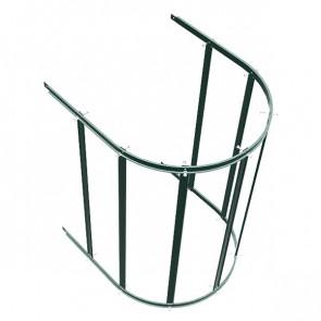 Защитный экран фасадной лестницы H=1200 м/D=800 мм (нижняя секция) RAL 6005 (зеленый мох)