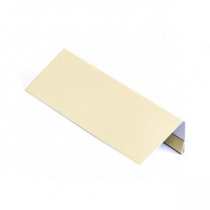 Завершающая планка для металлосайдинга, 2 м, полиэстер,RAL 1015 (слоновая кость светлая)