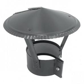 Зонт на круглую трубу RAL 7004 (сигнальный серый) D=100-500