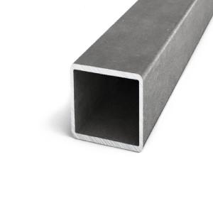 Труба профильная квадратная стальная горячекатаная 80x80x2мм 6м