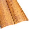 Металлосайдинг «Блок Хаус» двойной в пленке (356/330) 0,5 ECOSTEEL текстура золотой дуб
